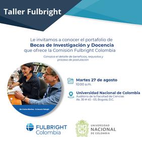 Taller de Investigación y Docencia para postular a la Becas Fulbright 2019