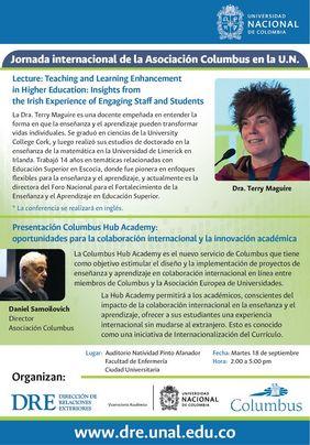 Jornada Internacional de la Asociación Columbus