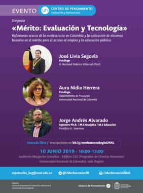 Simposio «Mérito: Evaluación y Tecnología» (Centro de Pensamiento en Evaluación y Meritocracia)
