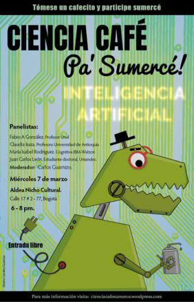 Charla sobre inteligencia artificial (Ciencia Café Sumercé)