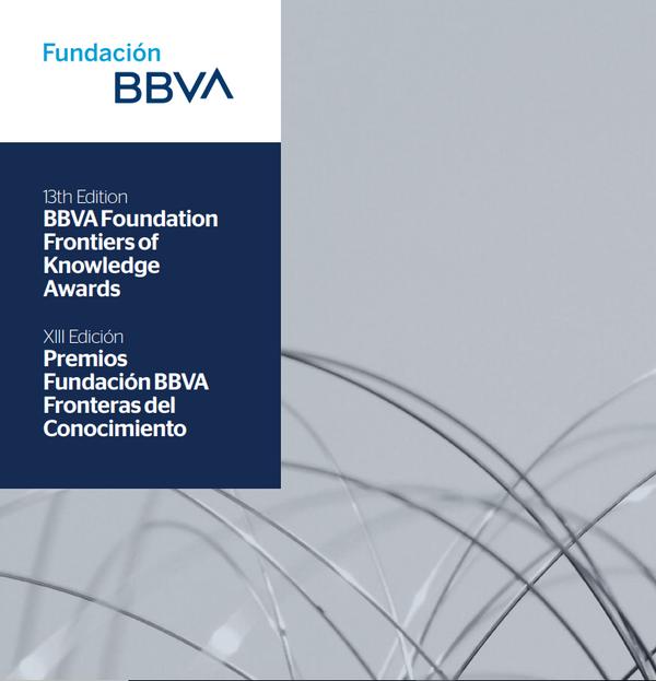 Convocatoria 2020 de los Premios Fundación BBVA Fronteras del Conocimiento