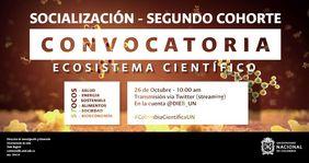 Encuentro de investigadores, segunda cohorte convocatoria «Ecosistema Científico» (programa Colombia Científica)
