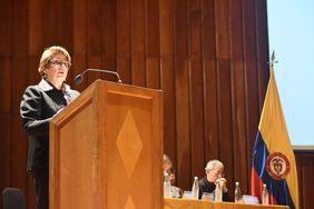 Dolly Montoya Castaño, rectora de la Universidad Nacional de Colombia (Foto: Aura Flechas)