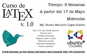 Curso gratuito en línea de LaTeX