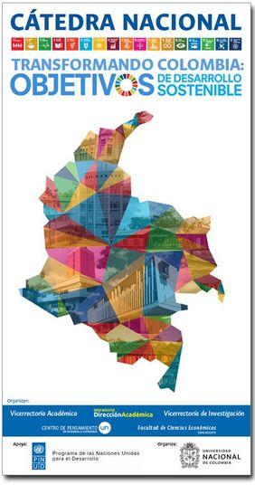 Cátedra Nacional 2019-II «Transformando Colombia: Objetivos de Desarrollo Sostenible»