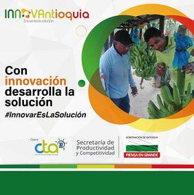 Convocatoria del Programa de Innovación Abierta «INNOVAntioquia: Antioquia piensa en grande 2019»