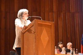 Patricia Linares, presidenta de la Jurisdicción Especial para la Paz (Foto: Aura Flechas)