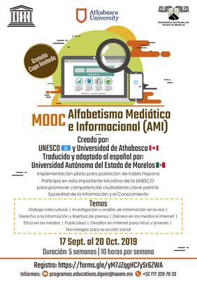 MOOC Alfabetismo Mediático e Informacional (AMI)