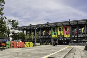 Estand de la UNAL en FILUNI 2019 (Foto: David Sánchez G./Editorial UN)