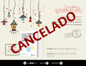 #UNLibroaPrimeraCita: 'Huellas y trazos de la justicia comunitaria en Colombia'