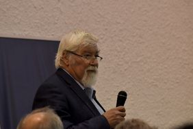 Wilhelm Boland, Sociedad Max Planck (Foto: Laura Berrío)
