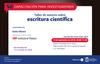 Invitación al taller de autores sobre escritura científica (IOP Publishing)