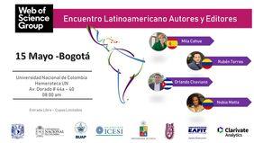 Encuentro Latinoamericano de Autores y Editores (Web of Science Group)