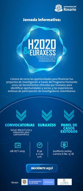 Jornada informativa «H2020 y Euraxess: convocatorias, experiencias y herramientas»