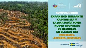Beca «Expansión mercantil capitalista y la Amazonía como nueva frontera de recursos en el siglo XXI» (CLACSO)
