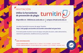 Consulte el portal de recursos de apoyo para la herramienta antiplagio Turnitin