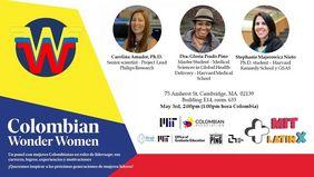 [Transmisión en directo desde EUA] MIT Colombian Forums: «Colombian Wonder Women» (mayo de 2019)