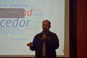Erasmo A. Rodríguez, líder del Grupo de Investigación en Ingeniería de Recursos Hídricos (GIREH) de la Facultad de Ingeniería de la Sede Bogotá (Foto: Vicerrectoría de Investigación)