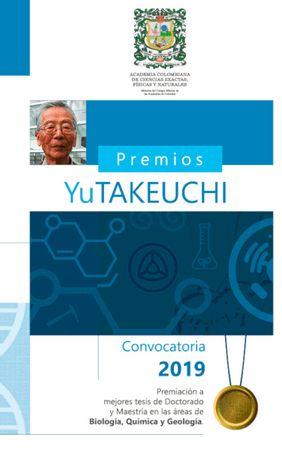 Premio Yu Takeuchi 2019 a las mejores tesis de doctorado y maestría en Ciencias Exactas, Físicas y Naturales (ACCEFYN)