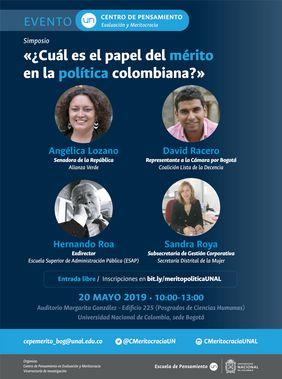 Simposio «¿Cuál es el papel del mérito en la política colombiana?»