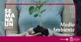 #SemanaUN del Medio Ambiente en el Centro Cultural Editorial Universidad Nacional de Colombia #VoySíoSí