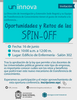 Conferencia «Oportunidades y retos de las 'spin-off'»