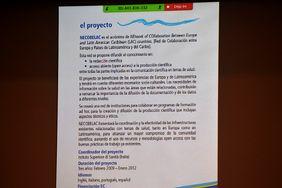 Intervención del profesor Carlos Alberto Agudelo, del Instituto de Salud Pública de la Facultad de Medicina de la Sede Bogotá (Foto: Vicerrectoría de Investigación)
