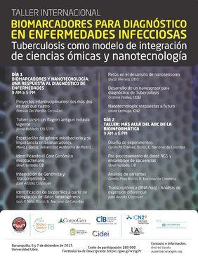 Taller internacional «Biomarcadores para diagnóstico en enfermedades infecciosas. Tuberculosis como modelo de integración de ciencias ómicas y nanotecnología»