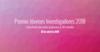 Convocatoria Premio GBIF a Jóvenes Investigadores 2018