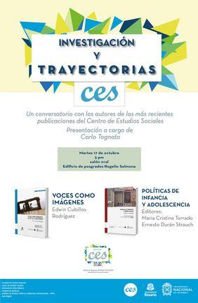 Lanzamiento libros Semana CES: 'Políticas de infancia y adolescencia' y 'Voces como imágenes'