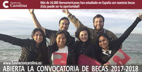 Abierta convocatoria becas en España