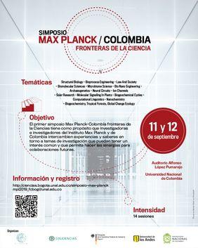 Simposio Max Planck Colombia: Fronteras de la Ciencia