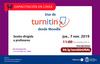Seminario web «Uso de Turnitin desde la plataforma Moodle»