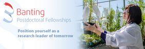2019-20 Banting Postdoctoral Scholarships / Bourses postdoctorales Banting 2019-20