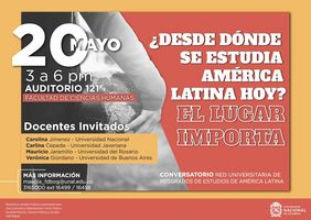 Conversatorio «¿Desde dónde se estudia América Latina hoy? El lugar importa»