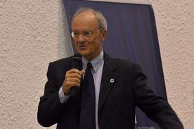 Walter Stühmer, de la Sociedad Max Planck (Foto: Laura Berrío)