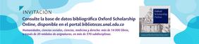 Novedades recursos bibliográficos SINAB: Oxford Scholarship Online