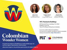MIT Colombian Forums: «Colombian Wonder Women»