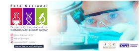 Foro nacional «Gestión de los laboratorios de las instituciones de educación superior»