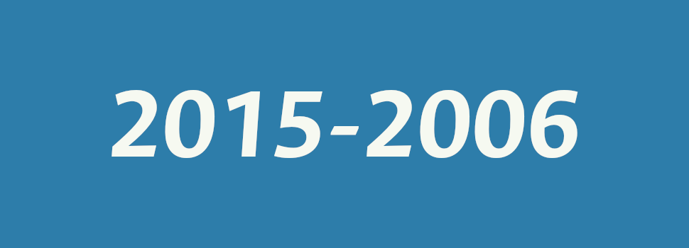 Resoluciones anteriores (2015-2006)