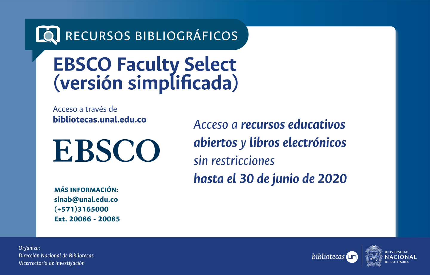 EBSCO Faculty Select