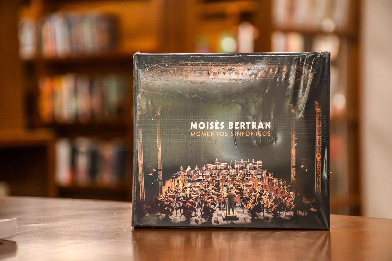 Lanzamiento del disco compacto 'Moisès Bertran, momentos sinfónicos', del profesor Moisès Bertran (Foto: David Sánchez G./Editorial UN)