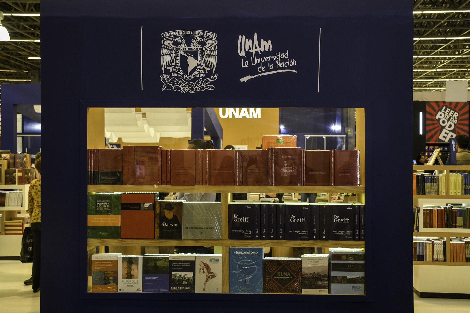 Publicaciones de la Universidad Nacional de Colombia (Foto: David Sánchez / Editorial UN)