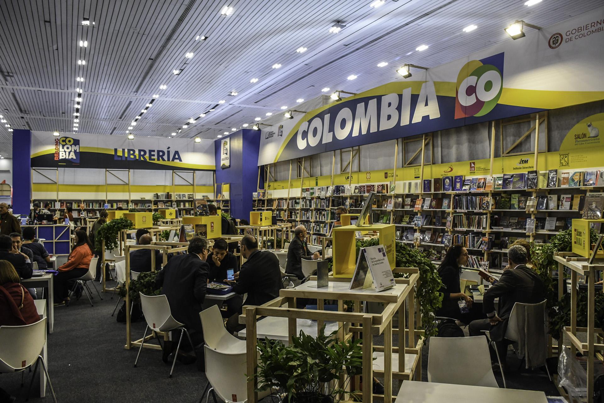 Cámara Colombiana del Libro (Foto: David Sánchez / Editorial UN)