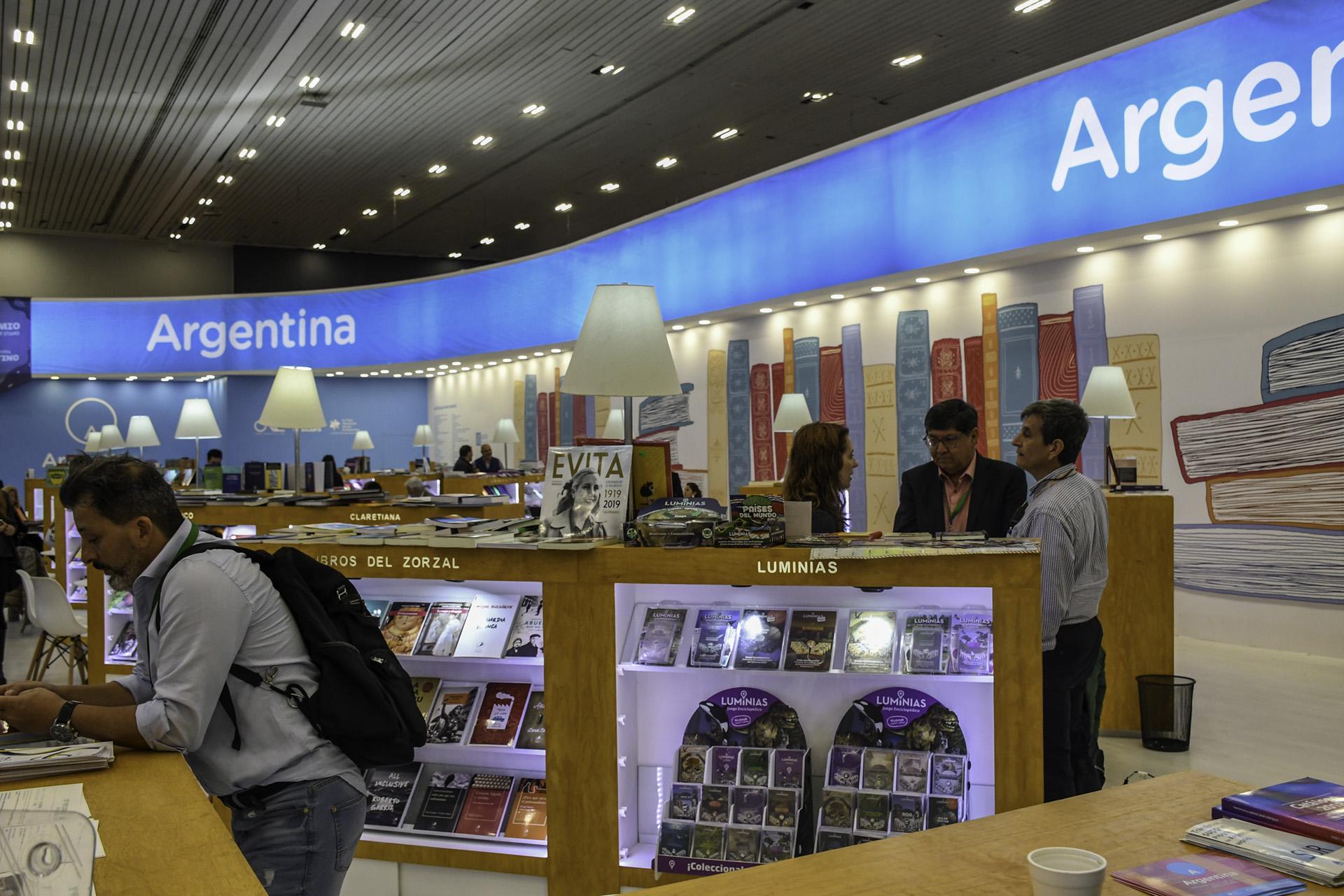 Argentina en la FIL Guadalajara (Foto: David Sánchez / Editorial UN)