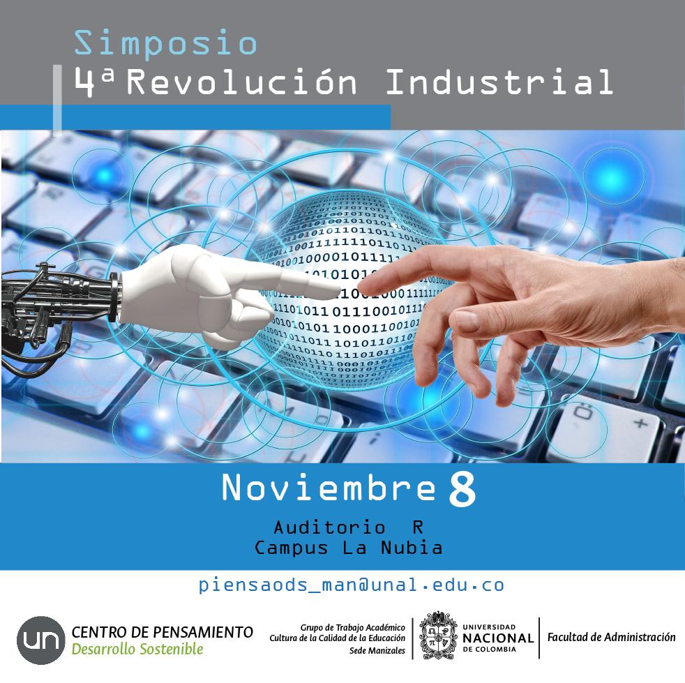 Simposio 4ta. Revolución Industrial (Centro de Pensamiento en Desarrollo Sostenible)