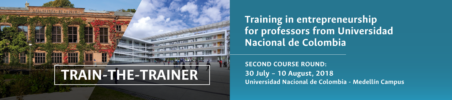 Invitación al curso «Train-the-trainer: an initial course in entrepreneurship for technologies developed in the academia» (2018-II)