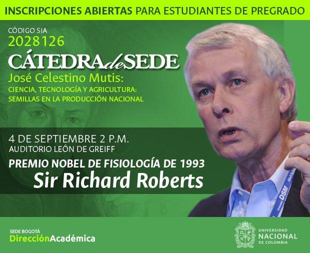 «Lecciones de un premio Nobel sobre los cultivos transgénicos» (Sir Richard Roberts, premio Nobel de Medicina o Fisiología 1993)