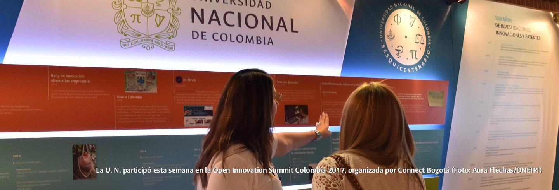 La U.N. participó esta semana en la Open             Innovation Summit 2017, organizada por Connect Bogotá Región             (Foto: Aura Flechas/DNEIPI)
