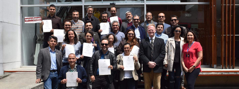 Concluyó el curso Train-The-Trainer, impartido por la U. de         Lund (Suecia) a 30 profesores de la sede Bogotá (Foto: Andrés         Barriga/VRI)